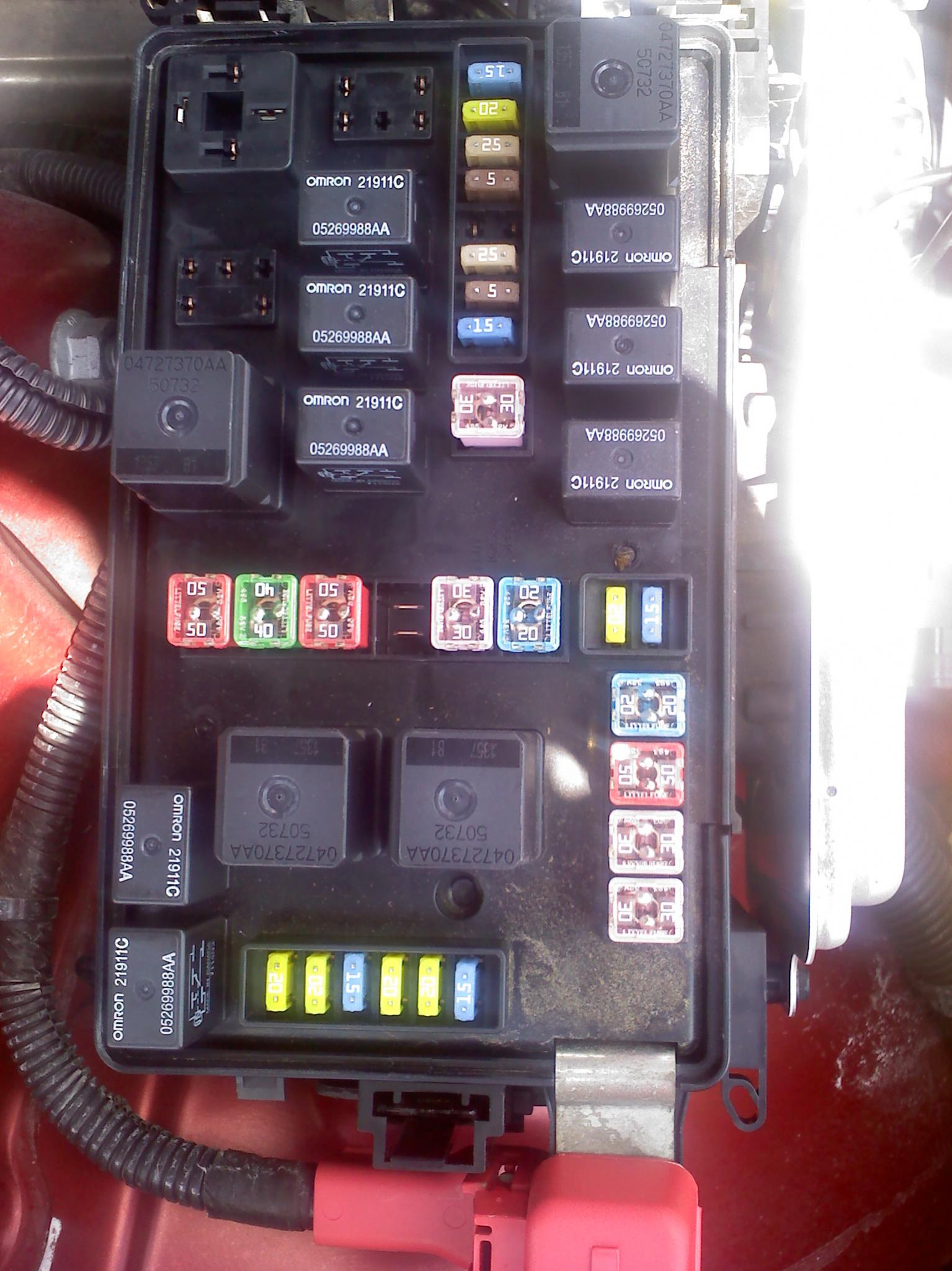 [DIAGRAM_5NL]  Car won't crank! Please look at my fusebox! 2007 2.7 dodge charger | Charger  Forums | 2007 Dodge Charger Fuse Box |  | Charger Forums