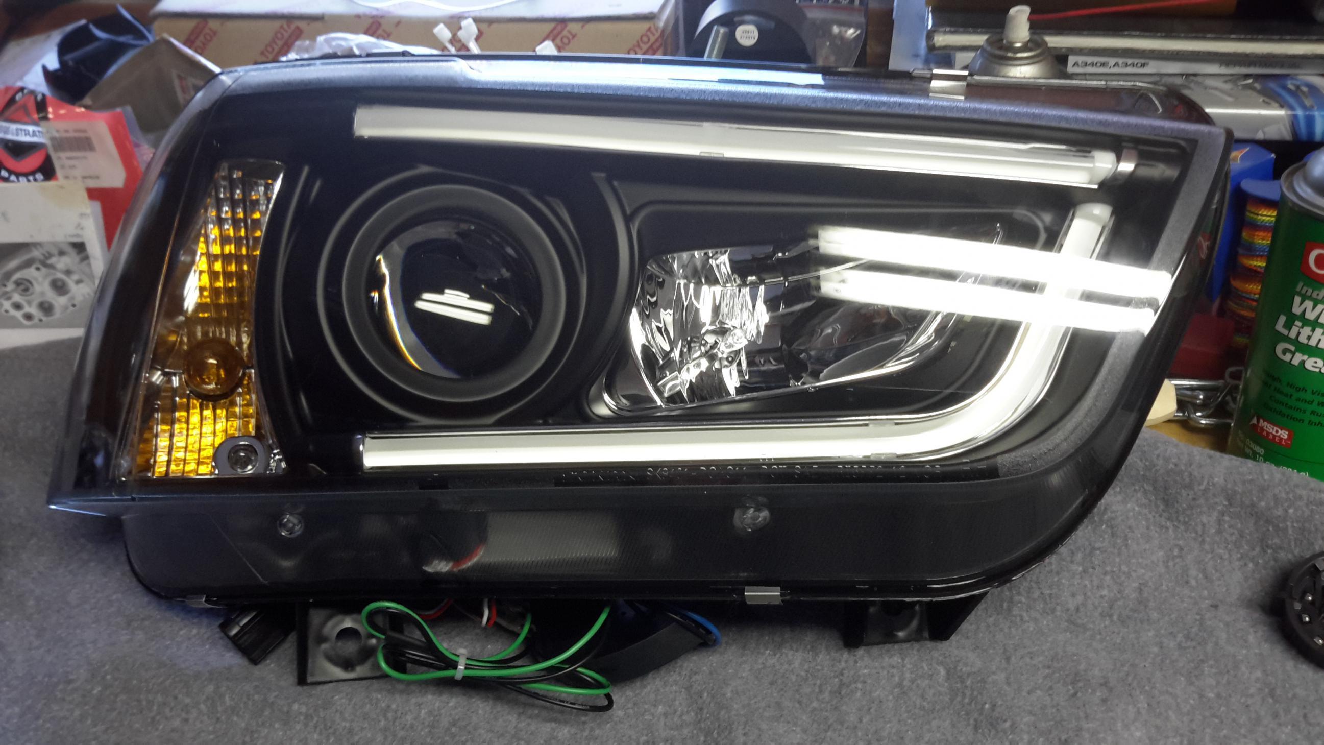 Spyder led tube headlamps Dodge Charger Forums