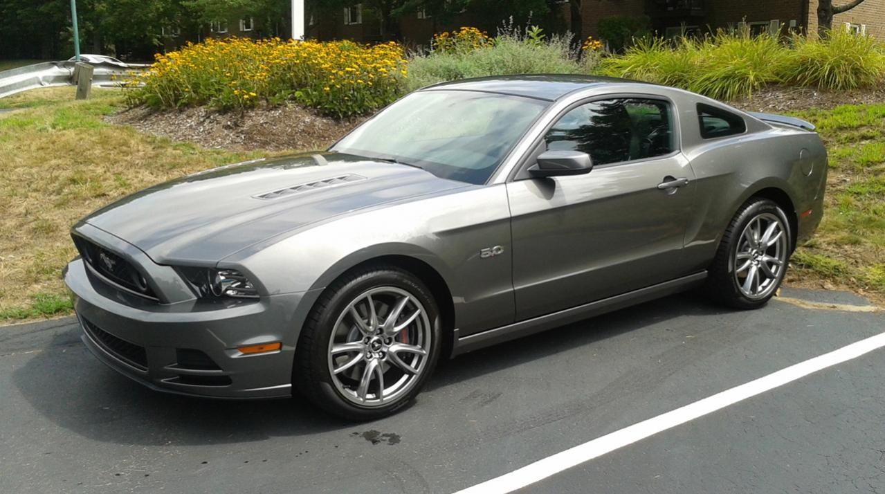 My new 2013 50L Mustang is here   Dodge Charger Forums