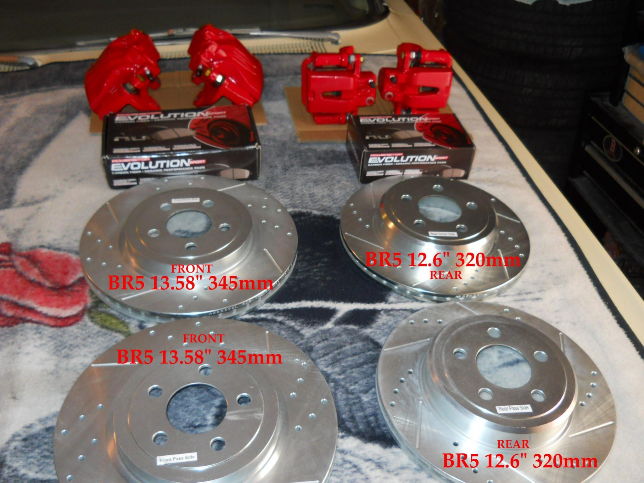 Sxt R T Brake Conversion What S Needed Charger Forums