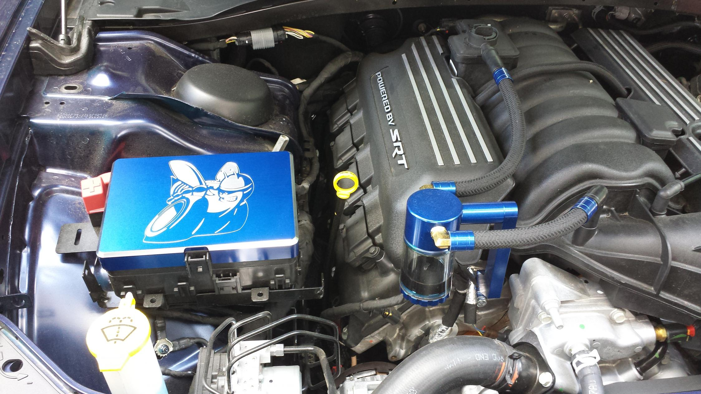 Custom Scat Pack Bee BT Fuse Cover Installed Dodge Charger Forums – Dodge Challenger Fuse Box Cover