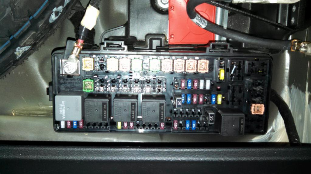 remote wire connections Dodge Charger Forums – Dodge Challenger Fuse Box