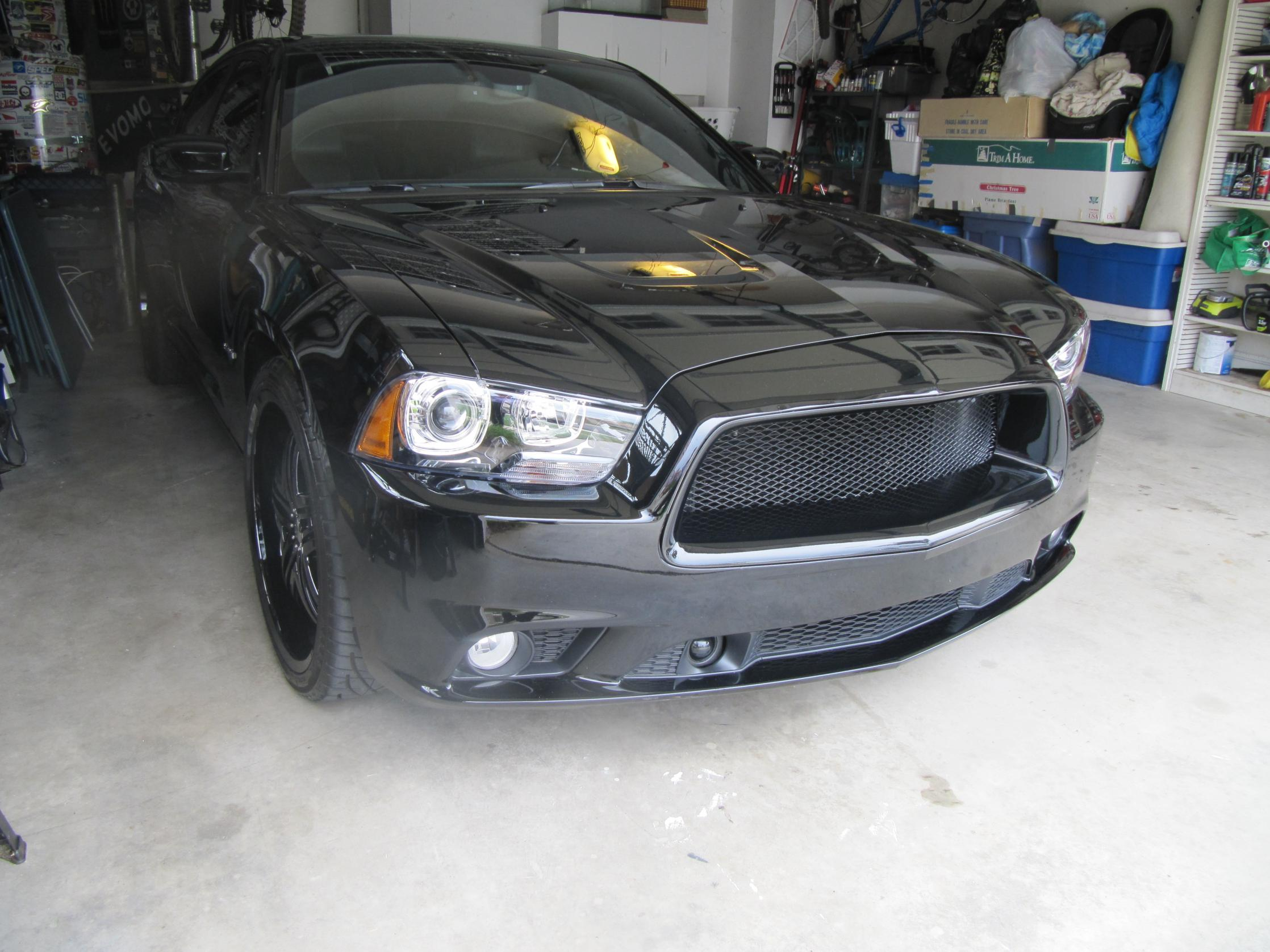 2011 2012 Dodge Charger Official Danko 70 Custom Grille Picture Thread Charger Forums