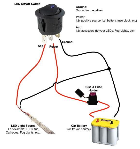 lighted rocker switch wiring diagram 120v wiring diagram and 4pin lighted t125 rocker switch t85 kcd4 3 way