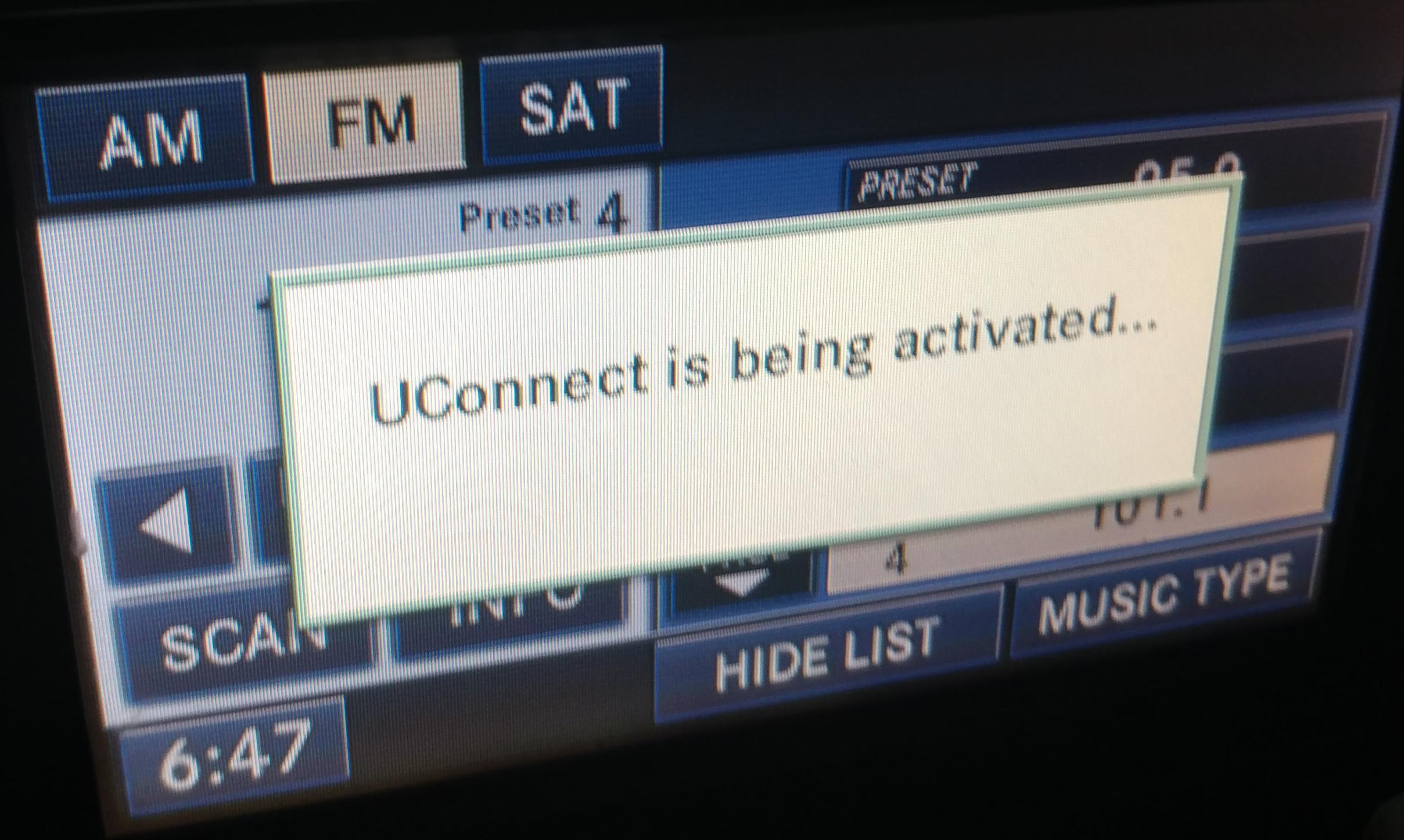 help with 2008 Charger RER radio problem after updating to 9 713