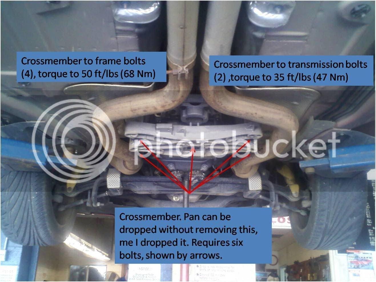 Transmission fluid/filter change information | Charger Forums