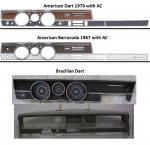 doubt about dashboard (instrument panel) - 1967 Barracuda
