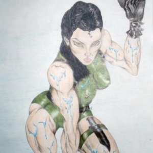 Sexy Female Drawing